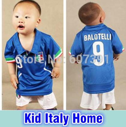 Top thail wm 2014 italien home kinder jugend trikots italien zuhause