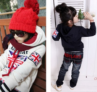 Free shipping stock clearance 2014 spring new kids hoodies girls boys clothing fashion child clothes kids hoodies