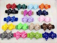 100pcs/lot ,18 colors ,girls headbands,hair accessories,flower headband