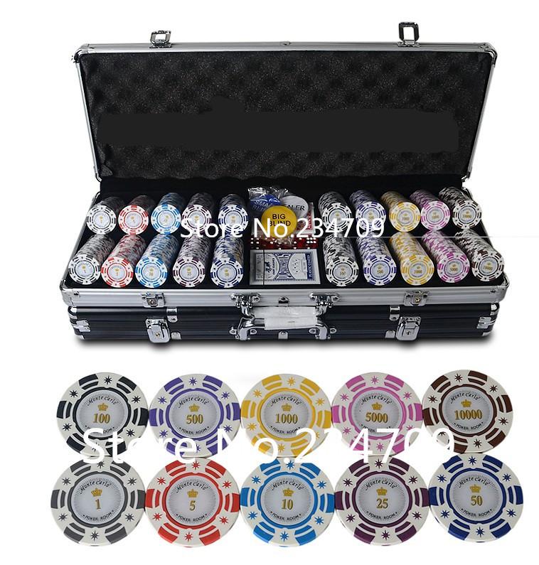 Poker chip set argos