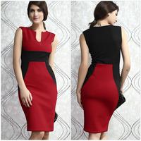 New 2014 EuropeStyle fashion sexy high waist party women dresses bodycon women work wear dress aristocratic ladies dress