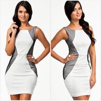 New 2014 EuropeStyle fashion sexy high waist women dresses bodycon women party dress aristocratic ladies dress