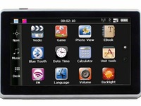 """Hot Sale! NEW 7"""" Inch 4GB Car GPS  navigation 800x480 HD Touch Screen GPS Receiver Wince 6.0"""