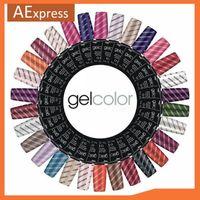 Soak Off UV Nail Gel Polish for Nail Arts, Top Coat, Base Coat, 102 Colors, 3 pcs/lot Shellac Nails Tools