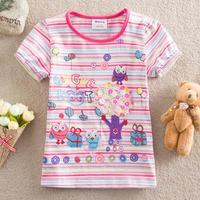 Free shipping 5pcs/lots New 2014 summer children clothing t shirt carters baby girl clothing t shirt fashion striped Tops&Tees