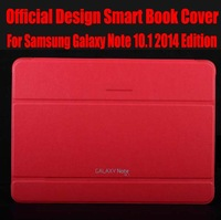 1PC HK Post Free Brand New Orignal 1:1 Official Design Smart Book Cover For Samsung Galaxy Note 10.1 2014 Edition No: P6001