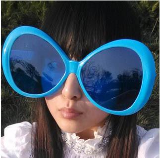 maskerade party supplies lustige brille übergroßen brille Fans große brille WM Fan gläsern versandkostenfrei