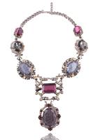 NEW 2014 women fashion collar bubble bib design necklaces & pendants chunky chain choker statement necklace for women Jewelry