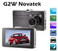 "G2W 170 Degree 2.8 ""LCD Full HD 1920x1080/30fps Car DVR w/ GPS TrackerG-sensor 5MP 1080P Vehicle Camcorder HDMI USB AV Out"