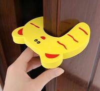 2014 NEW 10*10cm Baby safety Character Door Stopper for Kids Door Guards & Color random