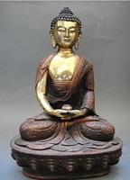 Tibet Tibetan Buddhism Bronze Bodhisattva Buddha Statue NR0189
