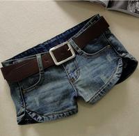 Promotion Casual Lady Denim Shorts,Women's Jeans Shorts,Hot Sale Ladies' Short Pants Plus Size:S M L XL Free Shipping JF5501