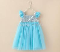 HOT ! Children's summer sequins tutu dress ,kids clothes girls , 5pcs/lot   HHJ08