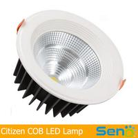 6 Inches 40W Original Japan Citizen COB LED Downlight High lumen >100lm/watt Magnesium alloy material 3 years warranty