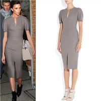 Fashion Uprising 2014 Summer dress fashion victoria beckham ruslana korshunova one-piece dress