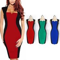 Novelty 2014 dresses fashion one-piece dress
