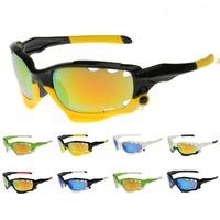2014 New Brand Bicycle Jawbone Cycling Eyewear Glasses Men WoMen Sport Sunglasses UV400 3 Lens Sun Glasses Goggles Free Shipping
