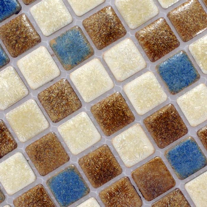 kopen Wholesale blauwe badkamer vloertegel uit China blauwe badkamer ...