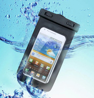 Waterproof Bag 10 pcs Free Shipping 100% sealed Waterproof Bag Waterproof Pouch With Armband For iPhone, touch 5,galaxy S 4 /3