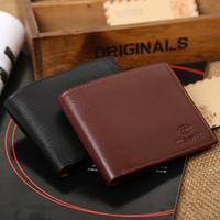 Wallet 2014 !Quality assurance men's wallet,male soft leather wallet,man leather card purse/wallet for men wholesale price M15