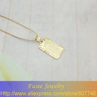 IGI01348  Classic 18K Gold Plated Islamic koran pendant 3pcs/lot
