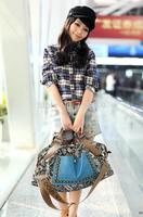 Hot Vintage Women Rivet Leather Tote Shoulder Messenger Handbag Hobo Bag Satchel