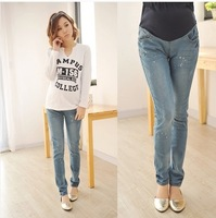 Maternity Clothes Pregnant Women/ Maternity/ Women's Plus Size Ripper Pocket Jeans XHJ5