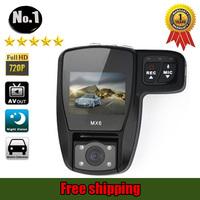 [NO LOGO ] new mx6 car dvr Camera recorder ,super wide-angle, hd 1920*720p , night vision ,SINGLE  Lens,free shipping