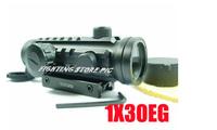 Tactical 1x30EG Dot Sight Range Finder Rifle Scope