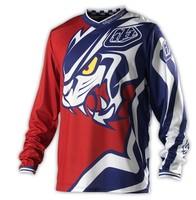 2013 New TLD/Troy downhill cycling clothing_Tiger head Fleet team_Men's long sleeve/motorcycle jersey /M/L/XL/XXL FTJ