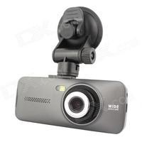 "Allwinner AT970 2.7"" HD 1080P 3.0MP CMOS Wide Angle Car DVRs Camcorder w/ HDMI - Ash Black"