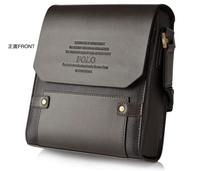 2014 HOT!!1pcs/Lot  for Polo women's and Men's Shoulder Messenger Briefcase Leather Bag , messenger bag  BG01