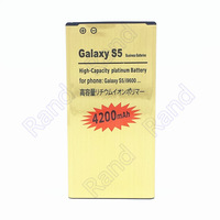 Replacement 3.8V 3500mAh Li-ion Battery for Samsung Galaxy S5 i9600 - Golden