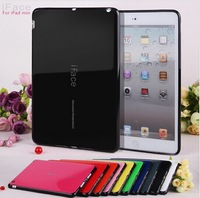 Newest Candy colour iface case for ipad mini 1 2 stand case tpu cover for ipadmini 10pcs/lot Free shipping