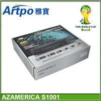Nagra 3 receiver AzAmerica S1001 for sourth America twin tuner IKS free
