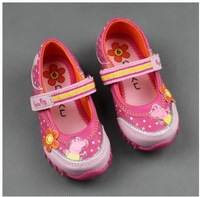 1 pair Girl's Peppa pig sneakers, George Pig girls sports Casual shoes Sneakers, Girl's peppa pig shoes, Retail,