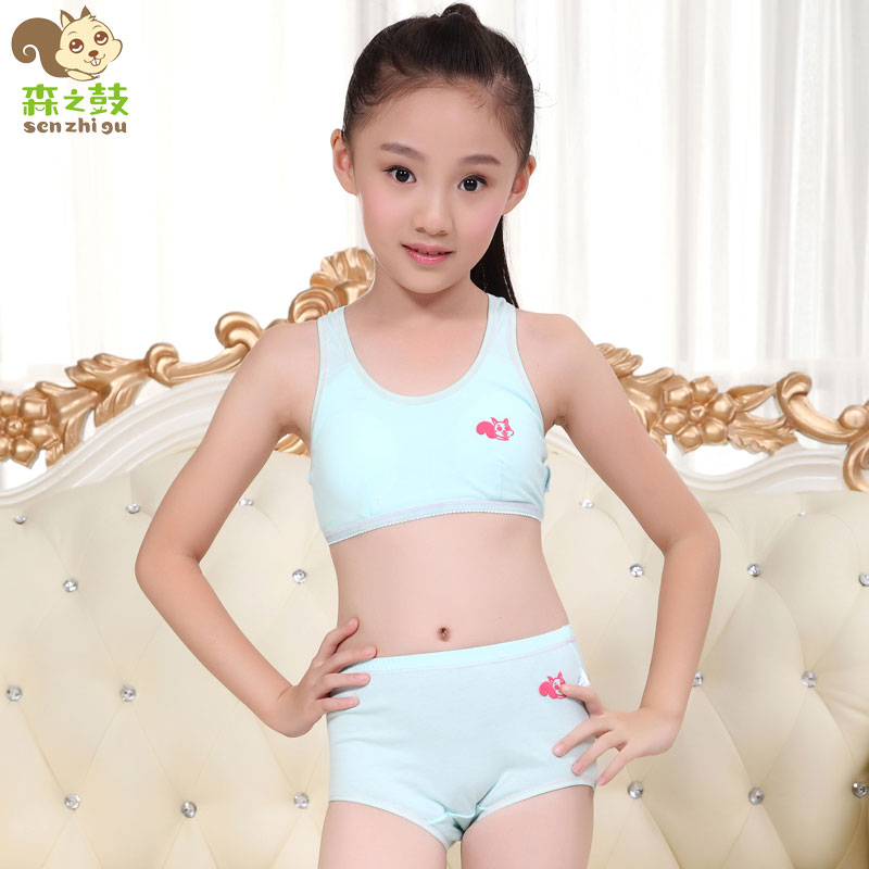 Young girls vest bra.