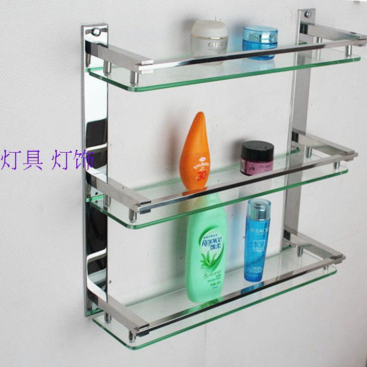 Estante De Baño Para Toallas: de acero inoxidable baño toalla rack de almacenamiento estante de la