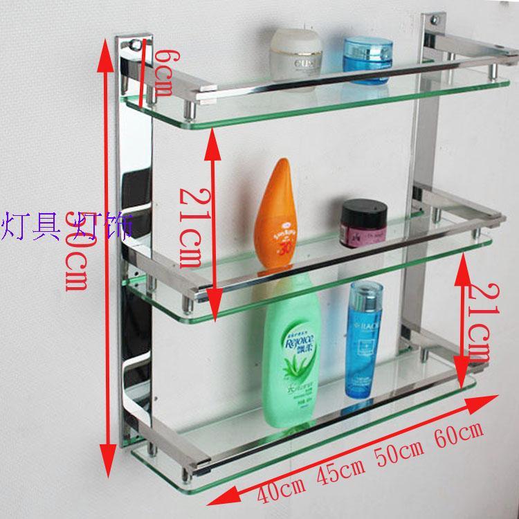 Estantes De Acero Para Baño: de acero inoxidable baño toalla rack de almacenamiento estante de la