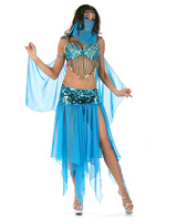 High Quality Sexy Arabic Dance Costume Hot Sale belly dancing costume