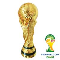2014 world cup trophy  tall 36cm  1:1 WM-POKAL CUP REPLICA 2014 brzil world cup best soccer fan gift Champion