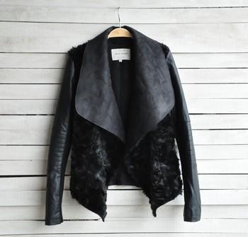 Spring & winter 2014 Hot Sell European and American Модный Женщины Мех Coat ...