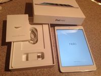 Good price, good quality Used Mini 16GB, white Wi-Fi, Tablet PC 7.9 inch iOS 7 Dual Core 1GHz 5.0MP iSight camera with A5 chip