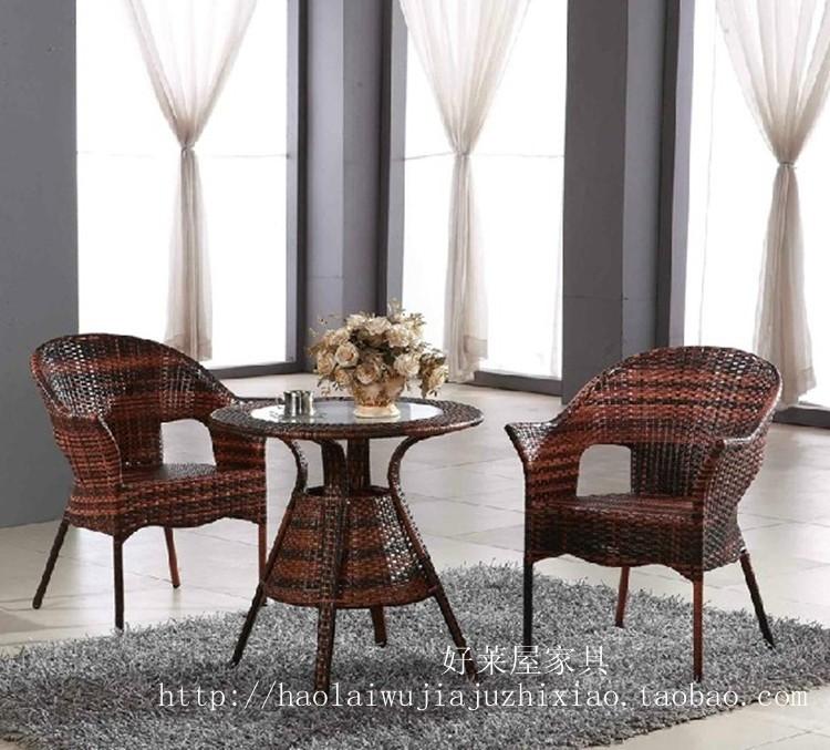 Achetez en gros chaise en osier rotin en ligne des for Table exterieur osier