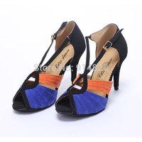 New arrival In stock CDSO10219 wholesale & retail fashion salsa shoe high heel  ,women latin dance shoes high heels /Ballroom
