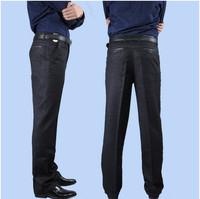 free shipping men's pants , autumn winter dress , men's business brand man pants 68