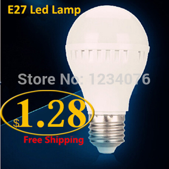 5PCS /lot E27 E14 B22 Led Light Bulb 5W 7W 9W 12W 15W LED Bulb Lamp, 220v 240V Cold Warm White Led Spotlight Free Shipping(China (Mainland))