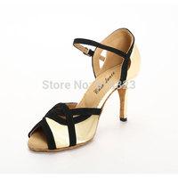 New arrival In stock CDSO10216 wholesale & retail fashion salsa shoe high heel  ,women latin dance shoes high heels /Ballroom