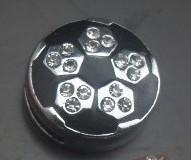 Wholesale 50pcs/lot rhinestone Football sport slide charm Fit for 8mm DIY jewelry findings