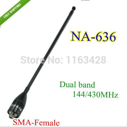 OEM 144/430 na/636 : SMA walkie talkie BAOFENG 5R B6 PX /888k UVD1P NA-636 2015 comunicador 10 na 774 sma f femaleuhf uv6 px 888k tg uv2